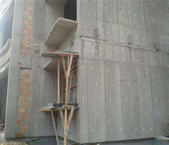 成都发泡混凝土墙体施工